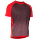 ION Traze_Amp - Maillot manches courtes Homme - gris/rouge